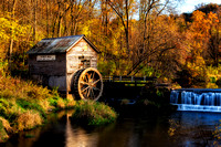 Hyde's Mill in Autumn